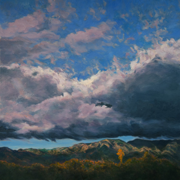 Storm Rise Angeles Forest by Katherine Kean