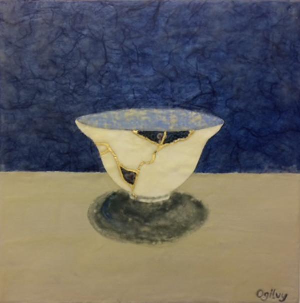 Kintsugi Bowl I by Jill Ogilvy