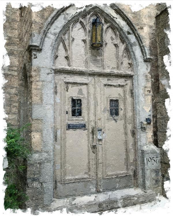 Royal Mission Church, Guelph, Ontario by Barbara Storey