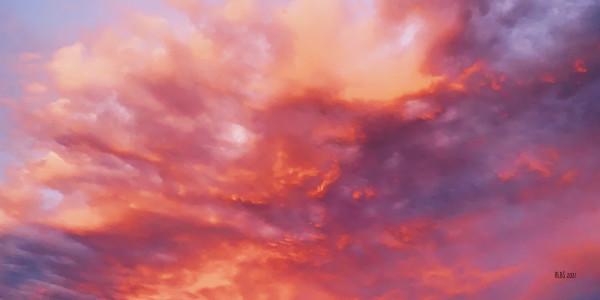Sky at Sunset by Barbara Storey