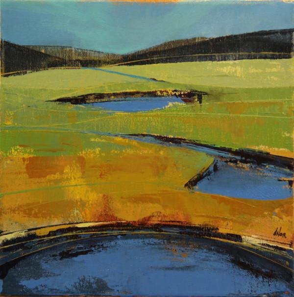 Blue Ponds by Dominique Normand