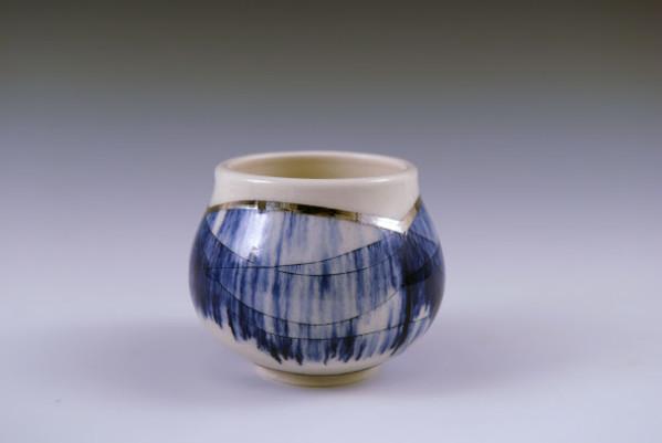 Gold Tea Bowl by Katie Carey
