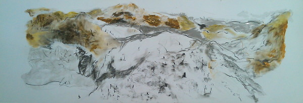 Theres Gold in Them Hills by Gillian Hughes