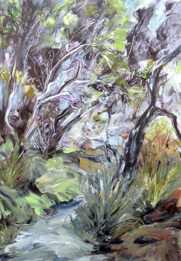 Leptospermum leanings by Gillian Hughes