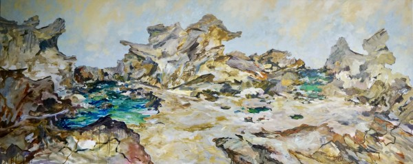 Sandstone Seclusion by Gillian Hughes