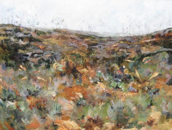 Uluru Landscape by Gillian Hughes