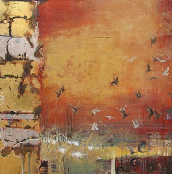 Crimson Flurry by Sarah Goodnough
