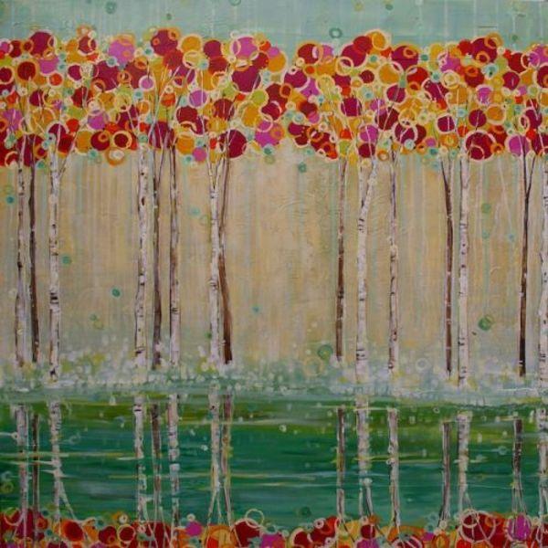 Mirrored Jubilation by Sarah Goodnough