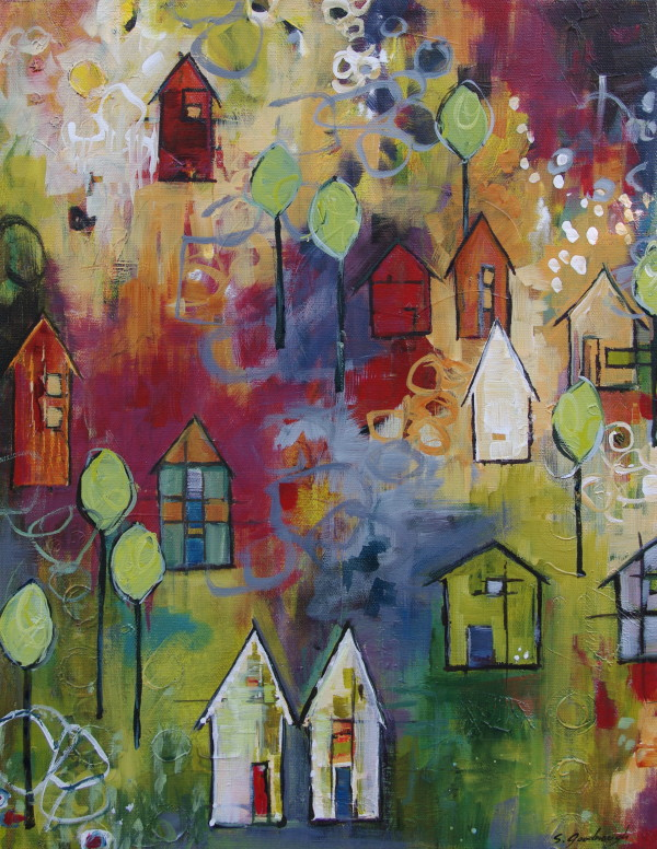 Eternal Sunday, Kaleidoscope Community by Sarah Goodnough