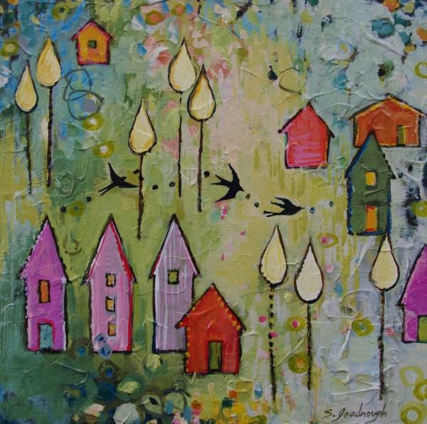 Green Thursday, Kaleidoscope Community by Sarah Goodnough