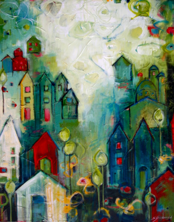 Living In Abundance by Sarah Goodnough