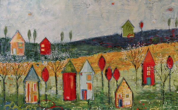 Playing Around the Neighborhood by Sarah Goodnough