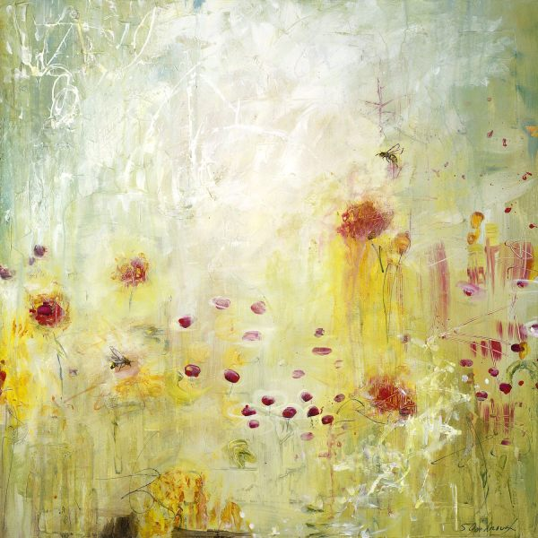 Pollinating Happiness by Sarah Goodnough
