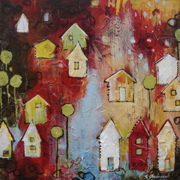 Red Friday, Kaleidoscope Community by Sarah Goodnough