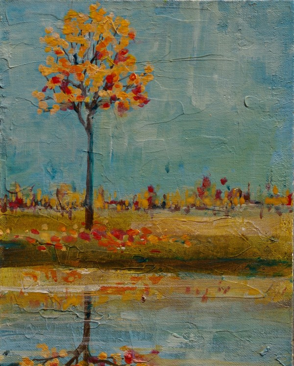 Reflecting Autumn by Sarah Goodnough