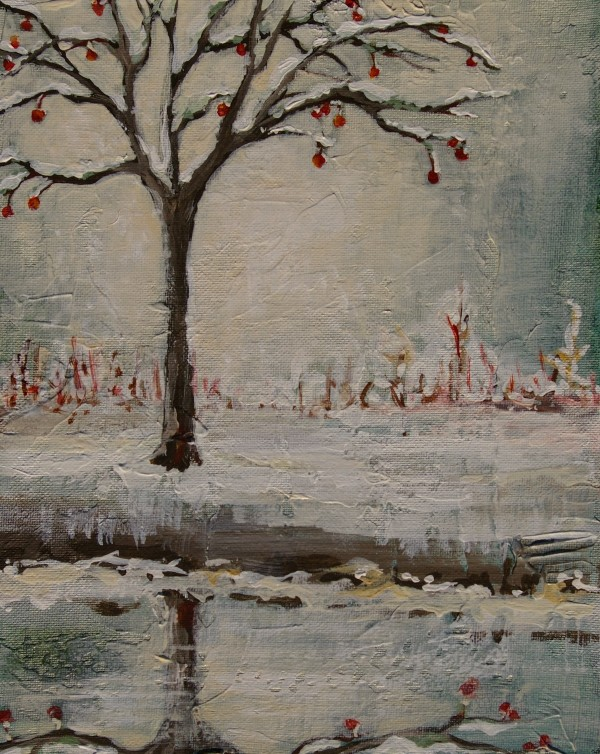 Reflecting Winter by Sarah Goodnough