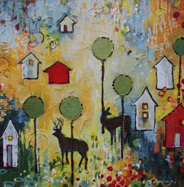 Yellow Monday, Kaleidoscope Community by Sarah Goodnough