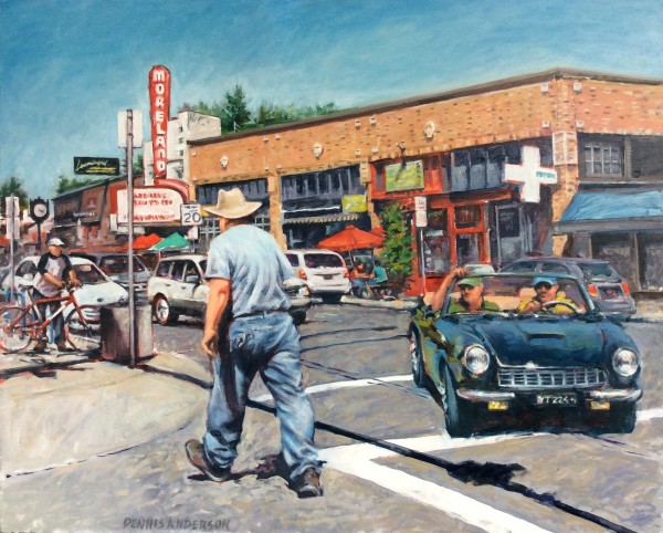 Bybee Intersection by Dennis Anderson