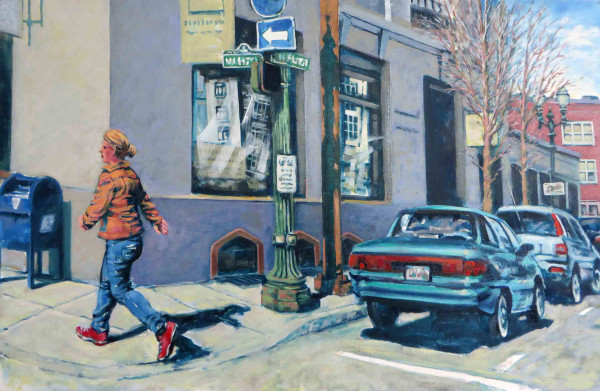 Girl in a Hurry by Dennis Anderson