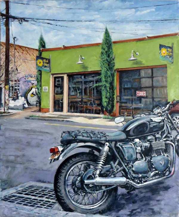 Alberta MotorBike by Dennis Anderson