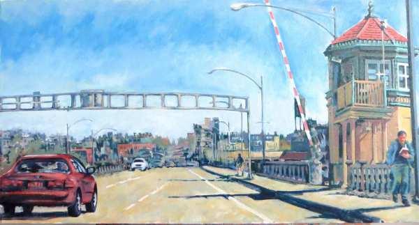 Burnside Bridge by Dennis Anderson