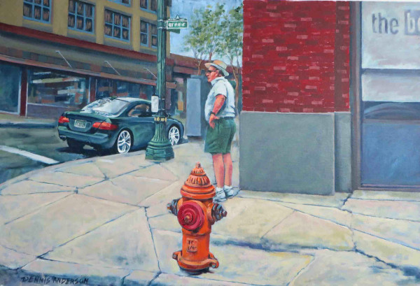 Fire Plug by Dennis Anderson