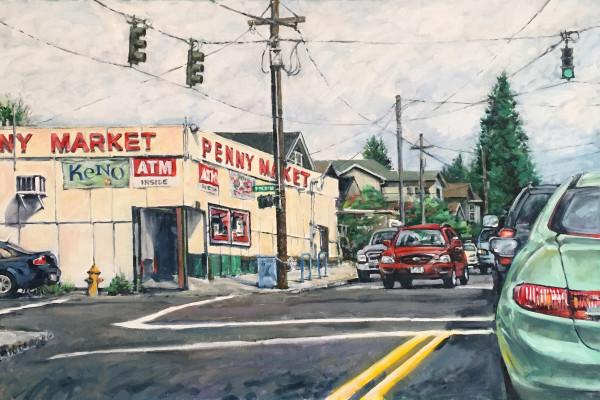 Penny Market Corner by Dennis Anderson