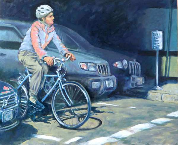Waiting at Stop by Dennis Anderson