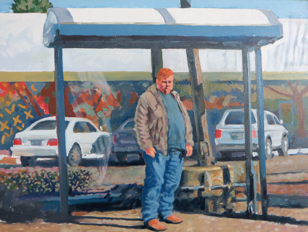 Bus Stop by Dennis Anderson