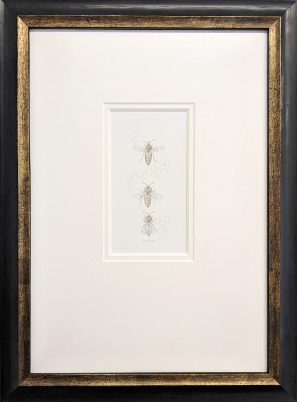Honey Bee 3.15e by Louisa Crispin