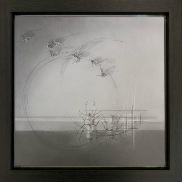 Flight Path ix by Louisa Crispin