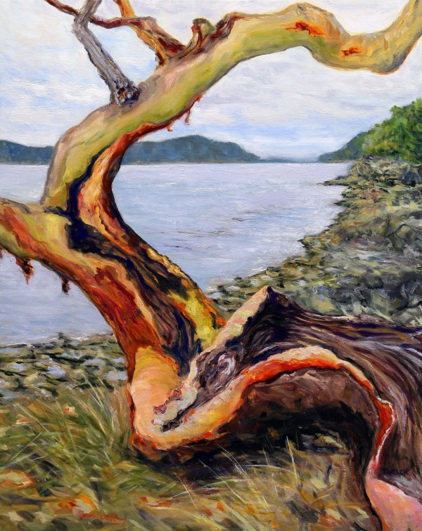Arbutus Entertaining A Grey Day by Terrill Welch
