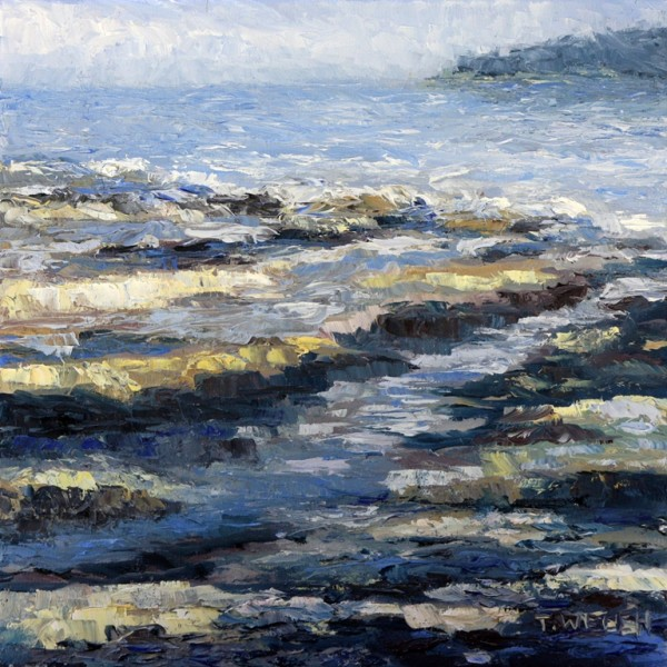 At the Beach Another Time by Terrill Welch