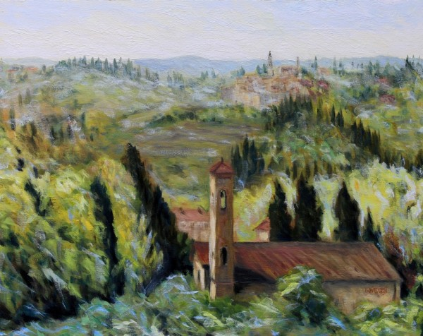 Bell Towers of Florence Countryside by Terrill Welch