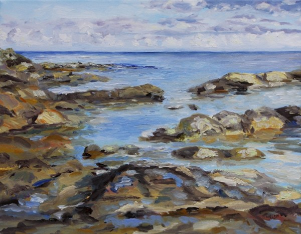 Early November Sea by Terrill Welch