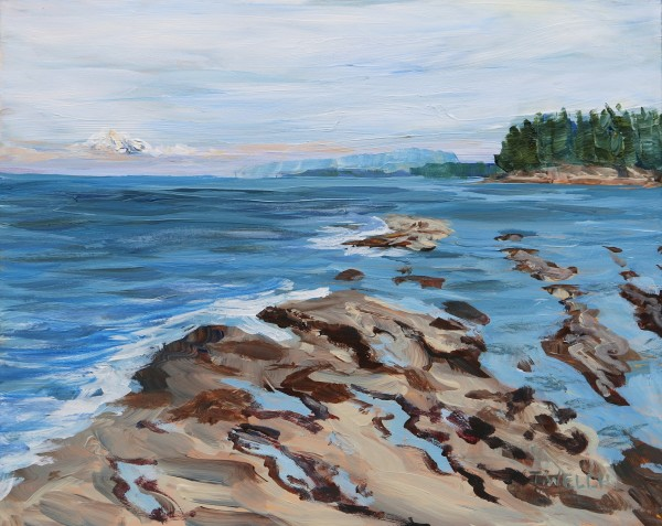 End of Day Reef Bay Study by Terrill Welch
