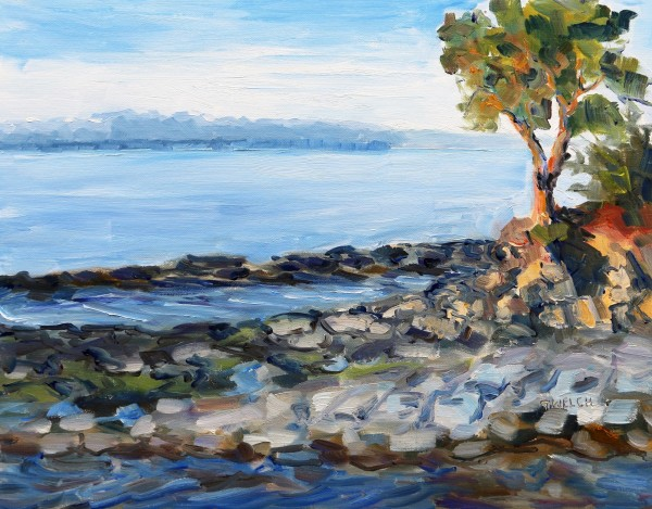 Evening beside the Sea by Terrill Welch