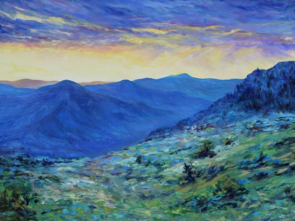 High Desert Dawn by Terrill Welch