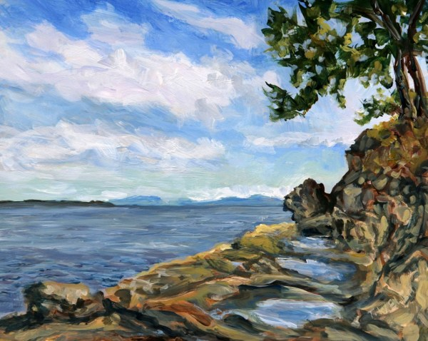 June morning Coon Bay Study by Terrill Welch