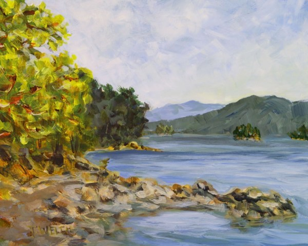 Late Afternoon Bennett Bay by Terrill Welch