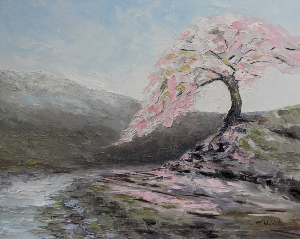 Plum Tree Pink  by Terrill Welch