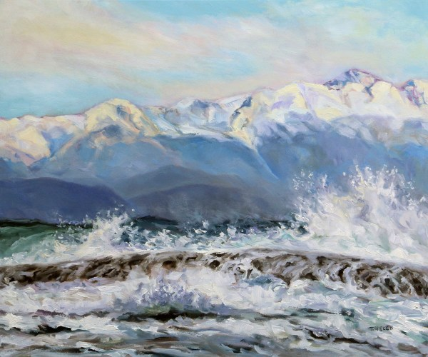 Rough Seas and Sunshine by Terrill Welch
