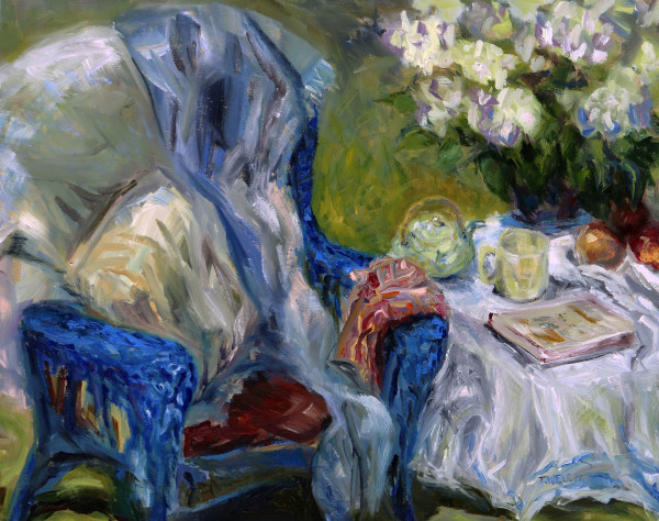 Spring Tea by Terrill Welch