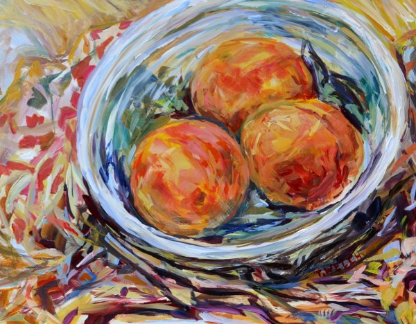 Study of Peaches by Terrill Welch