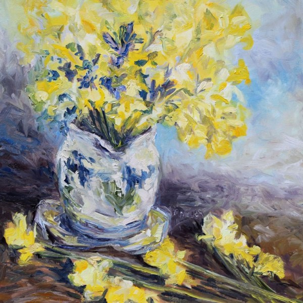 Suggestion of Daffodils by Terrill Welch