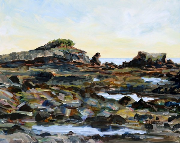 Sunny Morning Oyster Bay by Terrill Welch