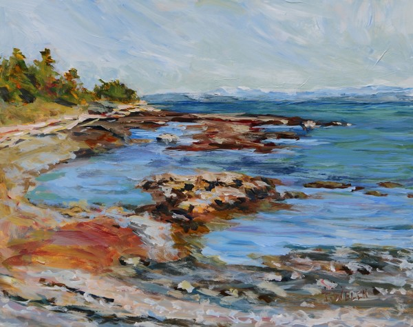 The Bay at the Peterson Bench by Terrill Welch