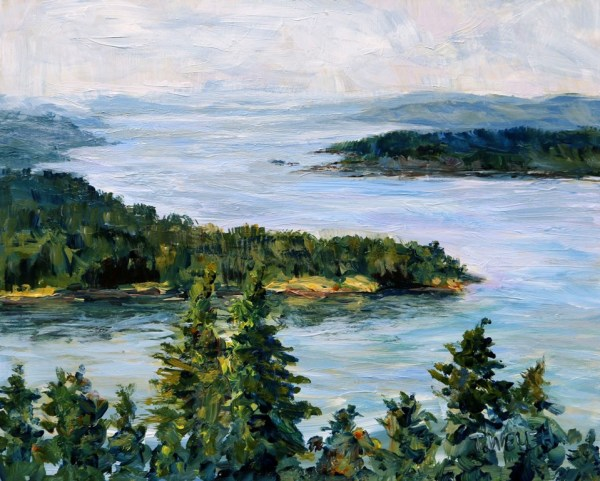 The Bluffs Galiano Island by Terrill Welch