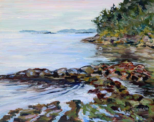 View Between Islands by Terrill Welch