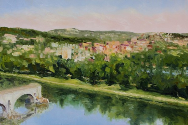Villeneuve lez Avignon France by Terrill Welch